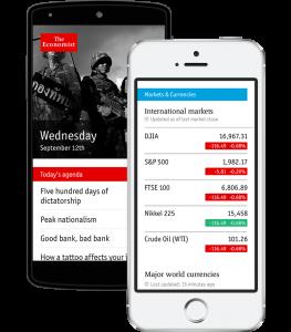 the economist app