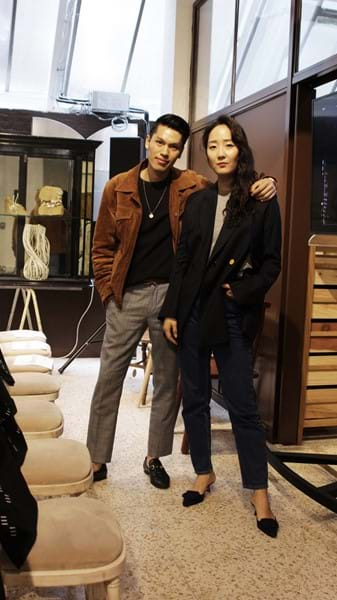 Luxury lifestyle influencers Shini Park and Mike Quyen